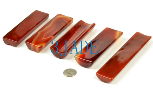Red Agate Paperweight
