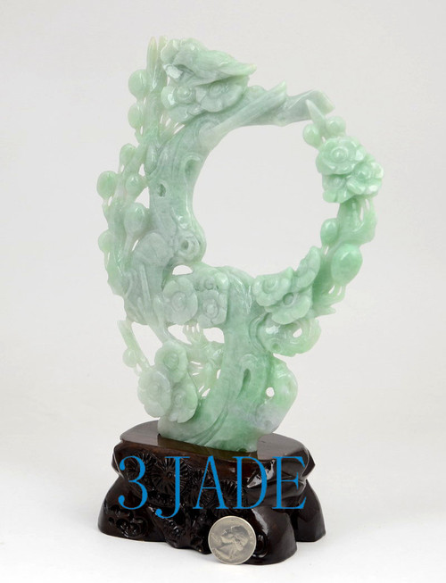 Burma Jadeite Jade Carving