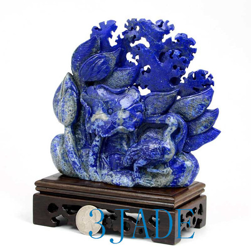 Lapis Lazuli Bird