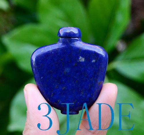 Lapis Lazuli Snuff Bottle