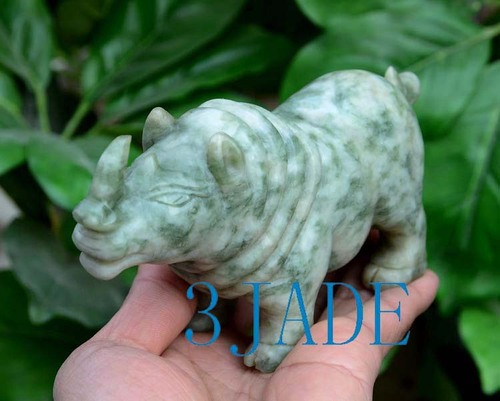 hand carved Rhino