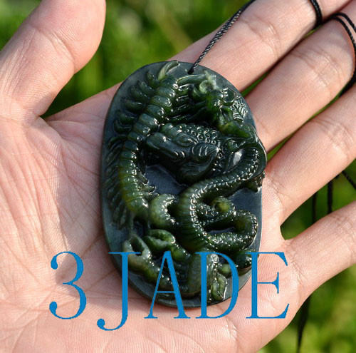 Jade Five Poisonous Creatures Pendant