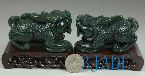 Jade Pixiu statue