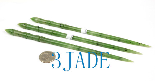 Green Jade Magic Wand