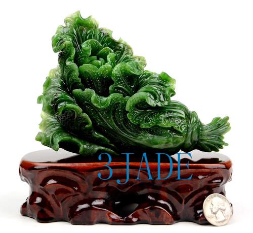 Jade Cabbage Sculpture
