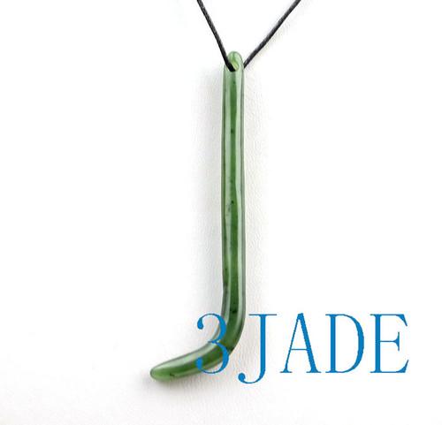 Green Nephrite Jade Kapeu Kuru
