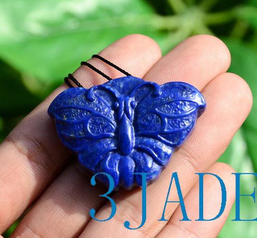 Lapis Lazuli Butterfly Necklace