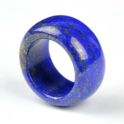 20mm Lapis Lazuli Band Ring
