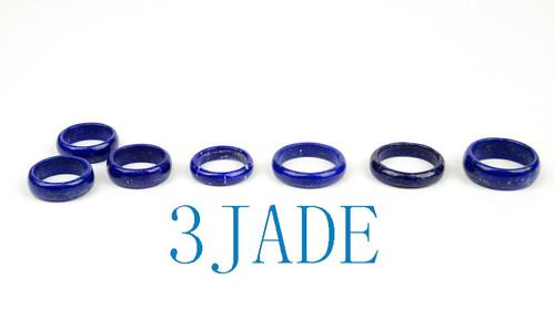 Natural Lapis Lazuli Band Ring