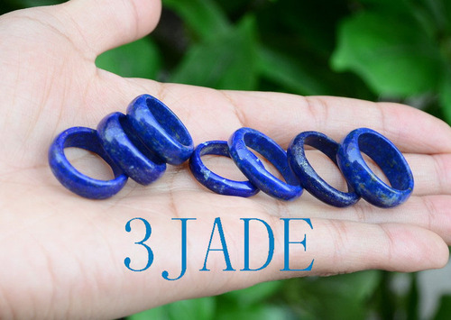 Natural Lapis Lazuli Ring