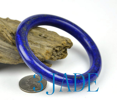 60mm lapis lazuli gemstone bangle