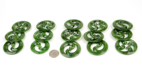 Jade Koru Pendants Wholesale