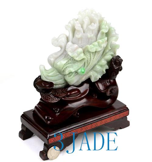 Jade Cabbage Statue