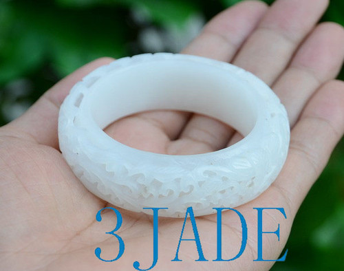small size Hetian jade bangle
