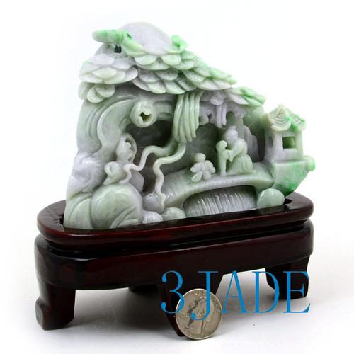 A Grade Jadeite Jade Carving