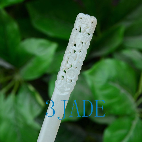 Hand Carved Hair Stick
