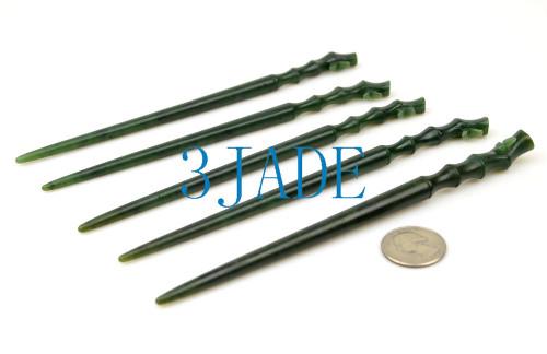 Green Nephrite Jade Hairpin