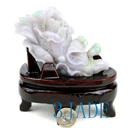 Jadeite Jade Cabbage Statue