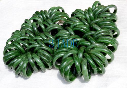 wholesale green nephrite jade bangle bracelet