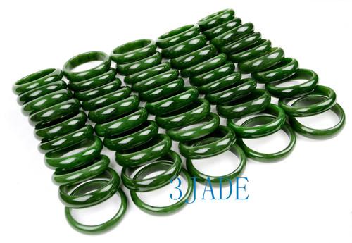 green Canadian nephrite jade bangles bracelet wholesale