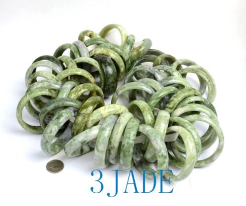 Natural serpentine bangle wholesale