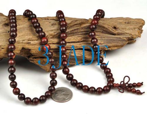red prayer beads