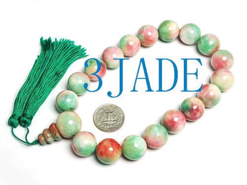 colorful prayer beads