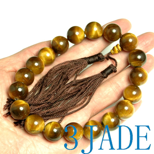 gemstone prayer beads