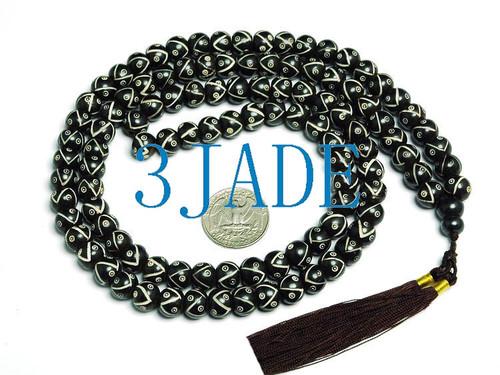 108 bone prayer beads