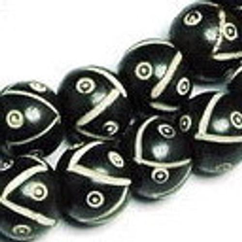 Bone prayer beads