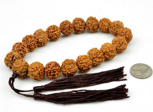 Rudraksha Bodhi Seed Prayer Beads