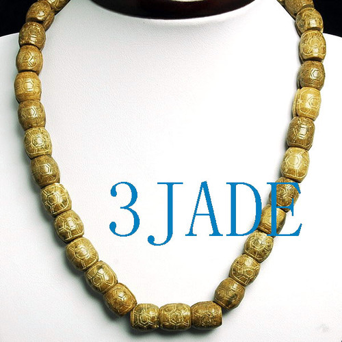 carved oracle beads