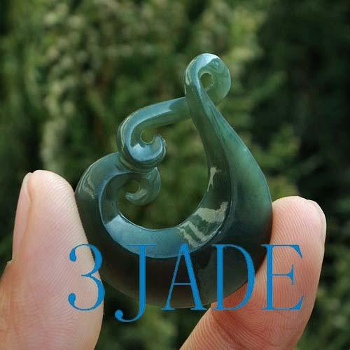 Maori jade pendant