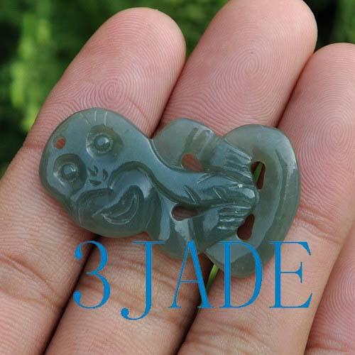 Maori jade necklace