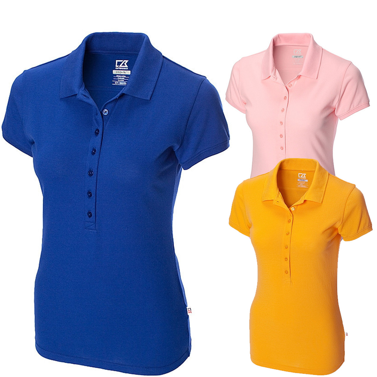 Cutter And Buck Sweet Spot Skinny Golf Polo 2015 Women Closeout