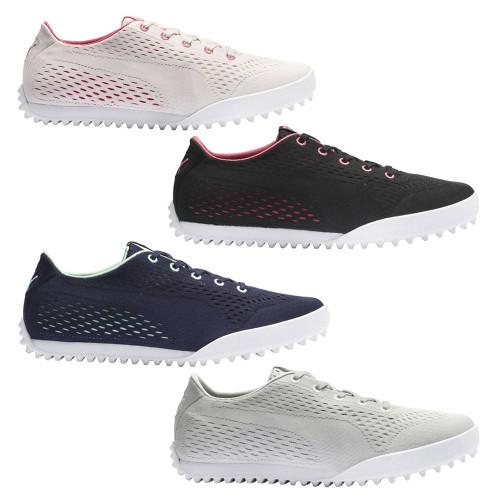 Puma Monolite Cat Engineered Mesh Spikeless Golf Shoes 2020 Women Golfio