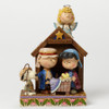 Peanuts Christmas Pageant, Peanuts by Jim Shore, 7.5 in H x 3 in W x 5.5 in L
