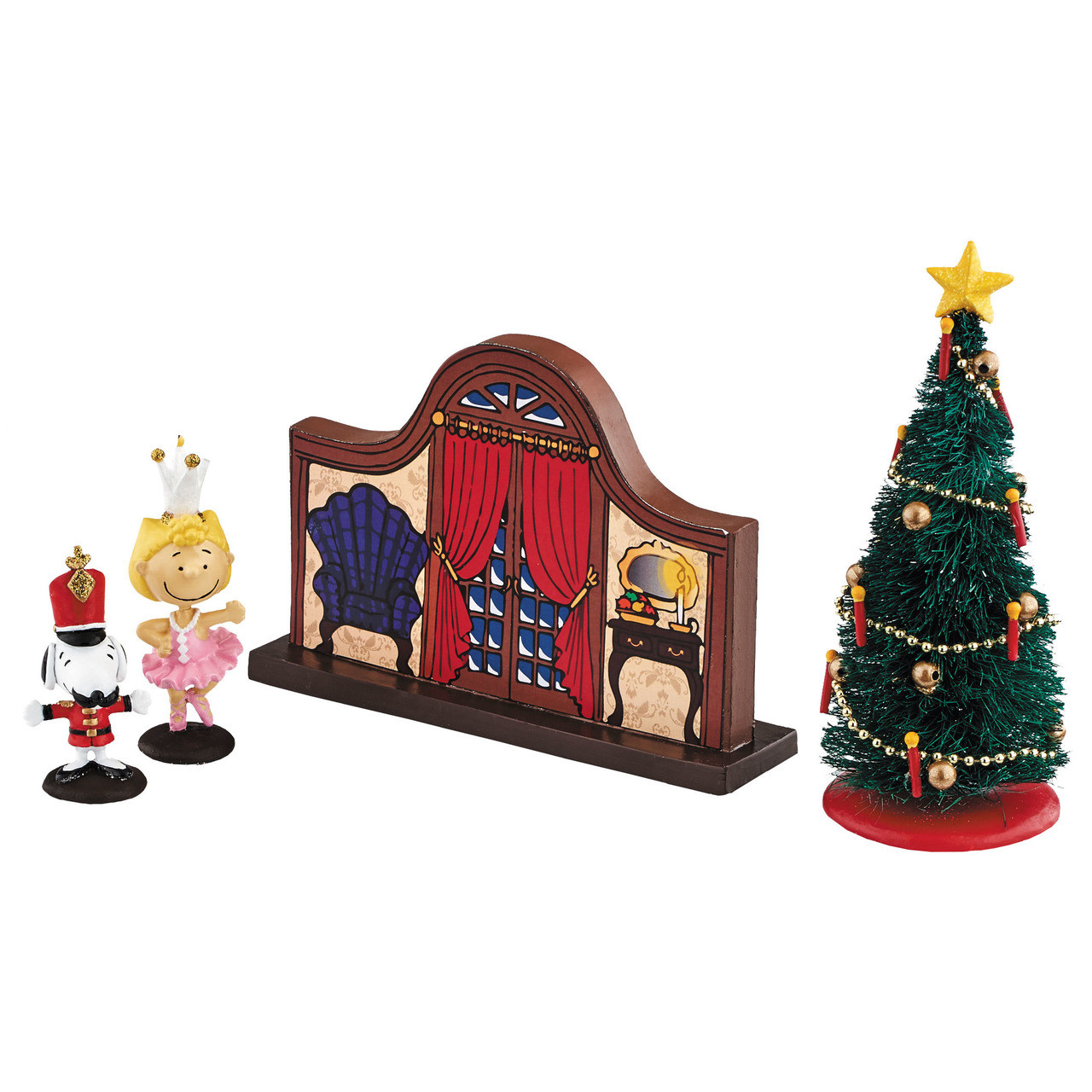 Peanuts The Nutcracker Set With Snoopy Sally By Department 56
