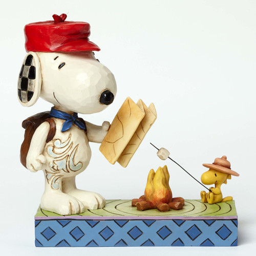 Campfire Friends Snoopy and Woodstock Peanuts by Jim Shore 4049414