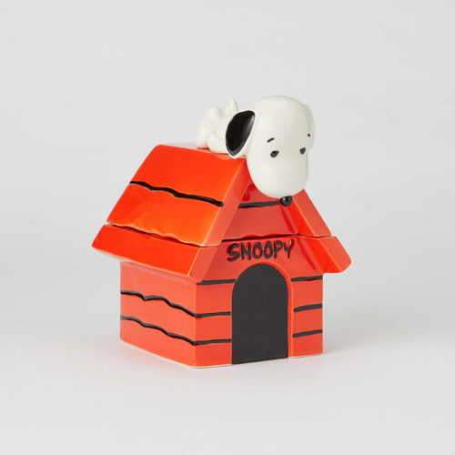 Snoopy on Top of Dog House Cookie Jar