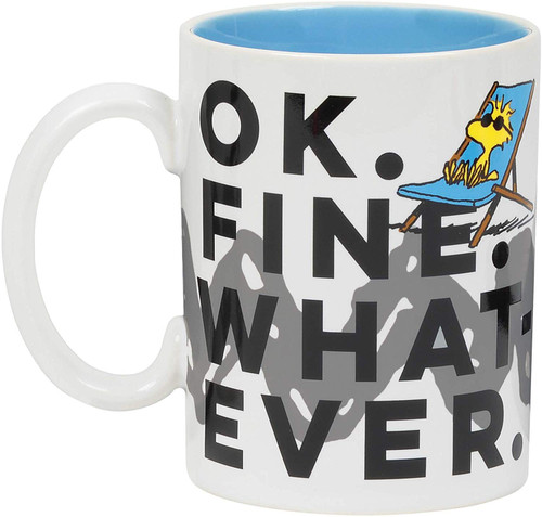 Mug Woodstock OK Fine Whatever 16 Ounces Department 56