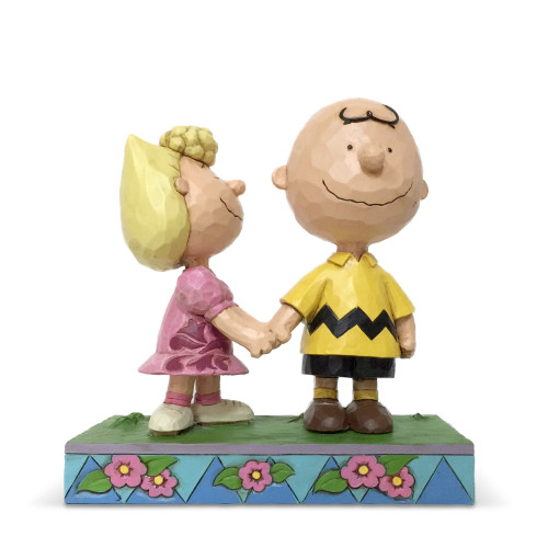 Peanuts by Jim Shore Charlie Brown Sally I Love My Big Brother