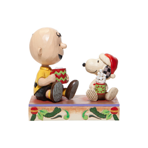 Snoopy Charlie Brown Hot Christmas Cocoa