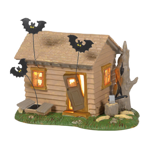 Peanuts Haunted House Halloween Lighted Building