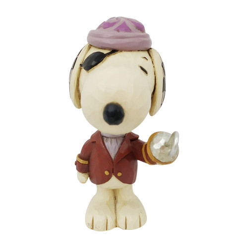 """Mini Snoopy Pirate 3"""" Tall"""