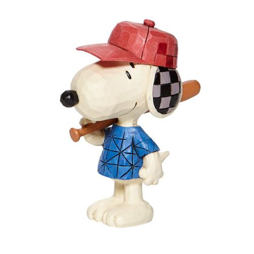 "Mini Snoopy Baseball 3.25"" Tall"