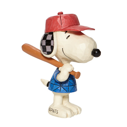 "Mini Snoopy Baseball 3.25"" Tall"