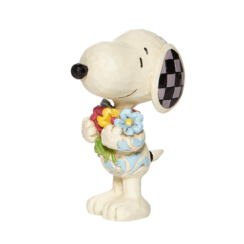 "Mini Snoopy with Flowers 3"" Tall"