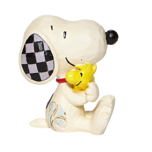 "Mini Snoopy Hugging Woodstock 2.5"" Tall"