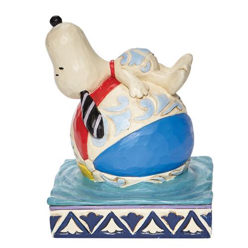 """Snoopy on a Beach Ball Having a Ball 4.5"""" Tall"""